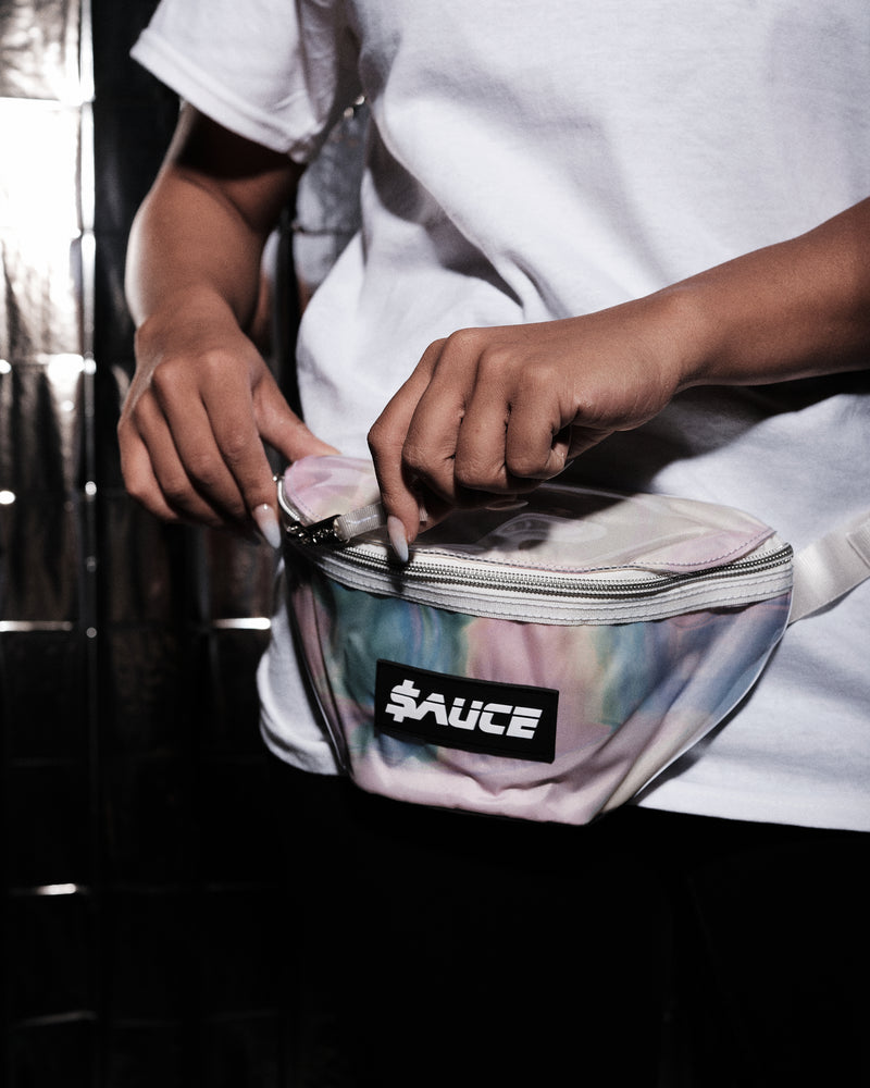 $ x Eastpak Marble Waistbag