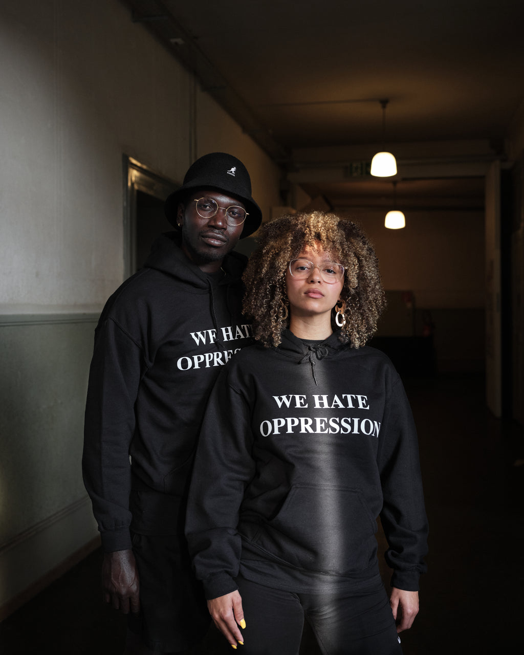 We Hate Oppression Hoodie