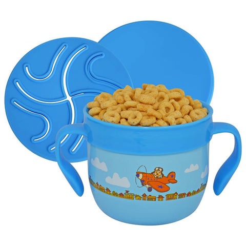 Gobble and Go Stainless Steel Snack Cup