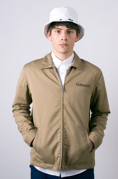 carhartt modular jacket in leather 1