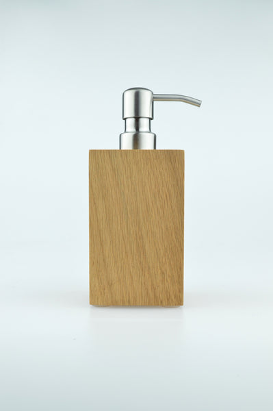 Mezza soap pump in natural by wireworks 1