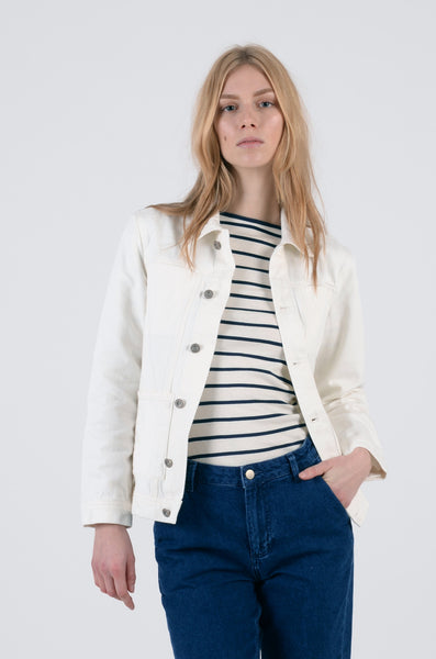 alfie jacket womens by bethnals in white 1