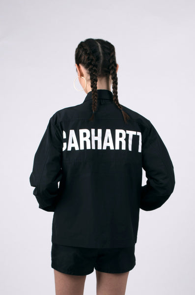 shore jacket by carhartt in black 1