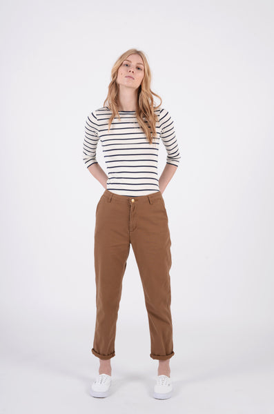 Casey Ankle Pant | Hamilton Brown