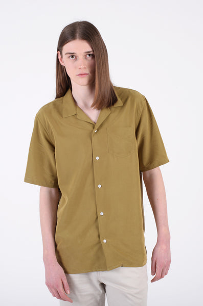 Cave S/S Shirt | Leaf Green