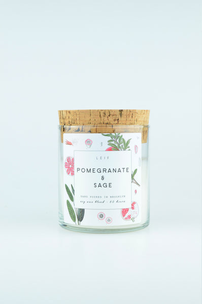Botanist Candle | Pomegranate & Sage