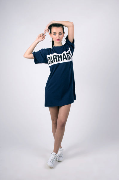 shore dress in navy by carhartt 1