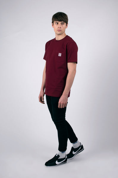 state pocket t-shirt cordovan by carhartt 1