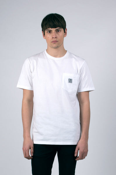 state pocket t-shirt white by carhartt 1
