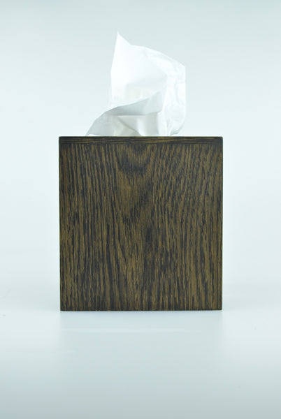 mezza tissue box in dark oak by wireworks 1