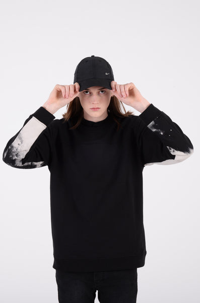 palmer crewneck sweat in black by wesc 1