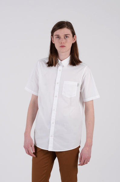 wesley shirt in white by carhartt wip 1