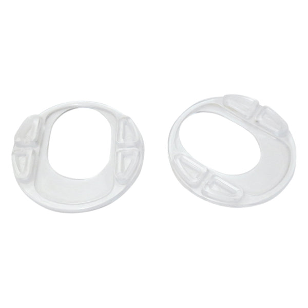 Clear Rubber Gaskets (set of 2)