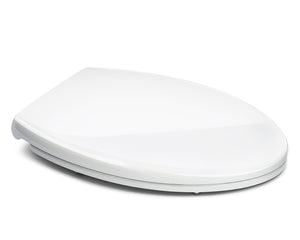 Bath Royale Superior Elongated Toilet Seat White Closed