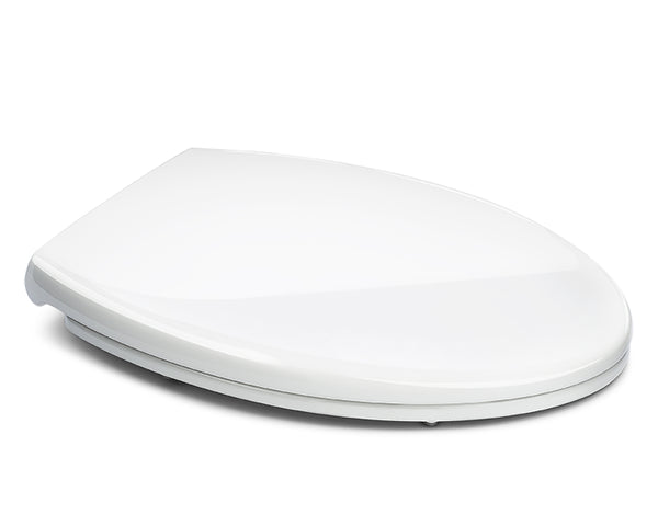 Superior Elongated Toilet Seat With Cover White Bath Royale