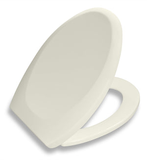 Bath Royale Premium Toilet Seat Biscuit Linen Elongated