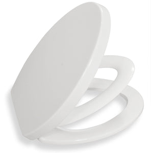 Bath Royale Family Toilet Seat White
