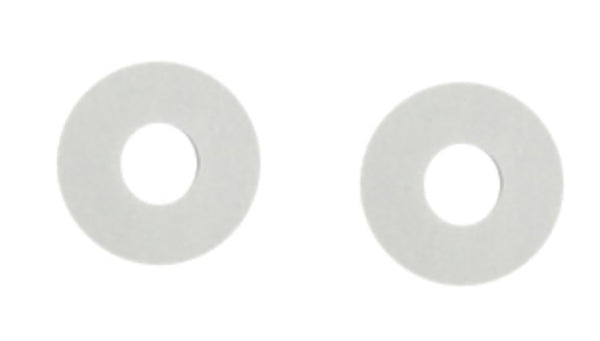 White Plastic Washers (set of 2)