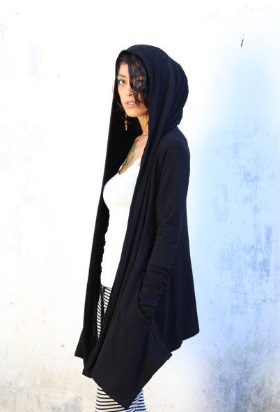 Hooded Shrug - Bamboo Terry