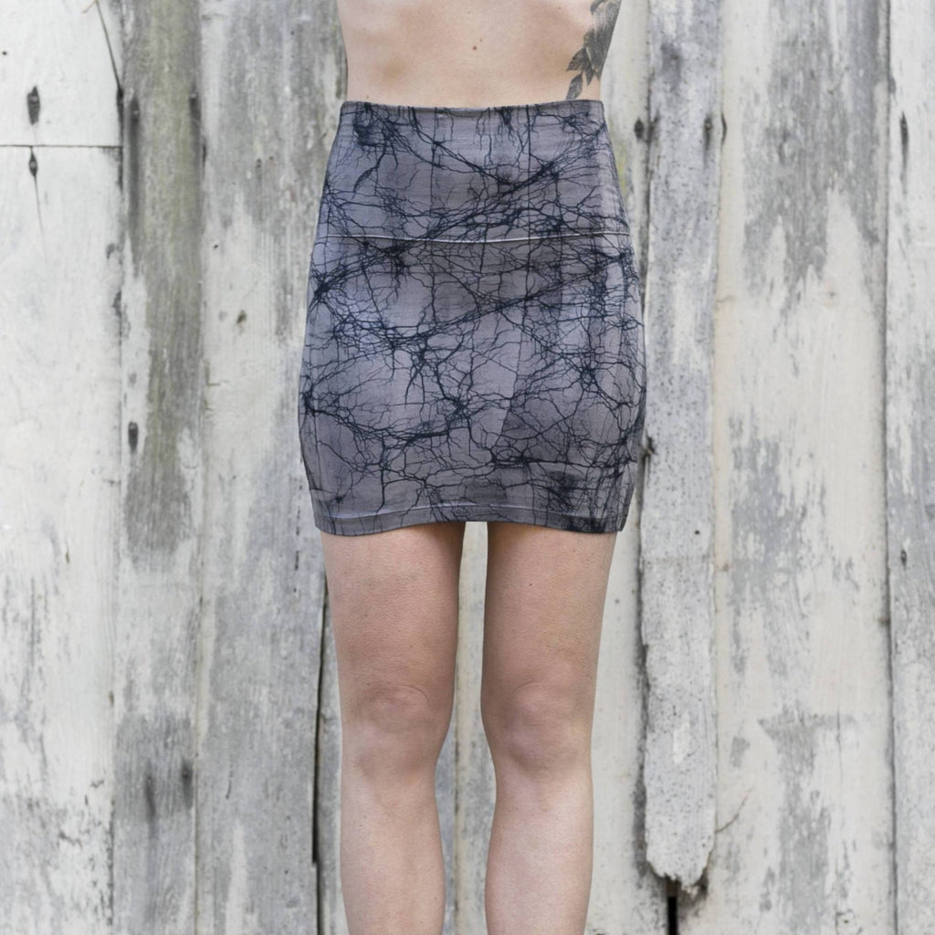 Bamboo mini skirt