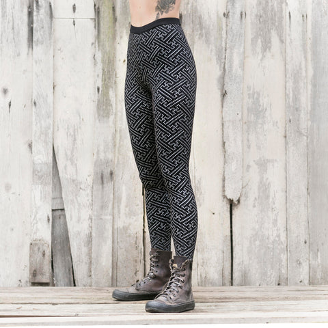 Swastiastu pants - Grey print