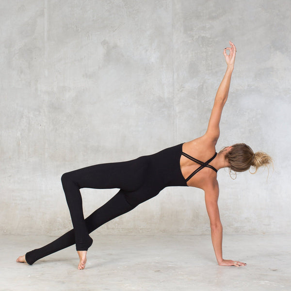 Very soft and comfortable jumpsuit. Made of natural, breathable fiber. Perfect for yoga & dance class, or simply lounging around the house. Rayon Lycra ( 90% Rayon / 10% Lycra. Slow, eco-friendly and sustainable fashion.