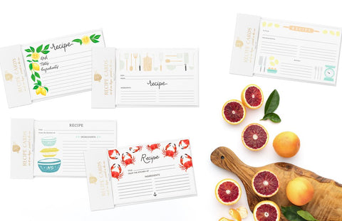 ROLLING PIN RECIPE CARDS