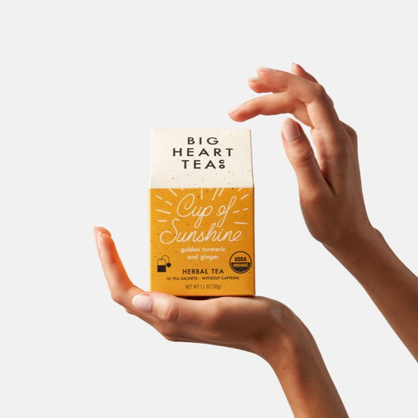 Organic Cup of Sunshine Turmeric Tea Bags