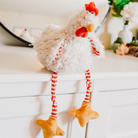 Clucky the Plush Chicken