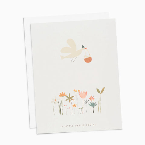 A little one is coming Card