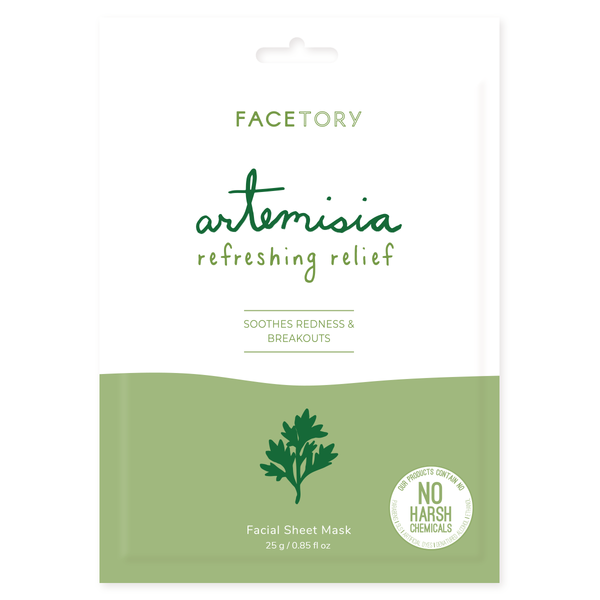 Artemisia Refreshing Relief Facial Sheet Mask