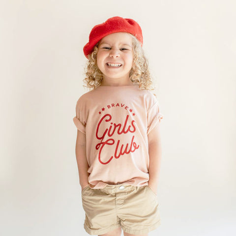 Brave Girls Club Toddler Tee