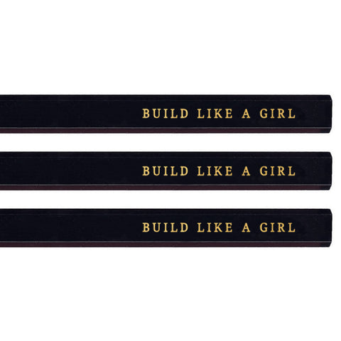 Build Like a Girl carpenter pencils