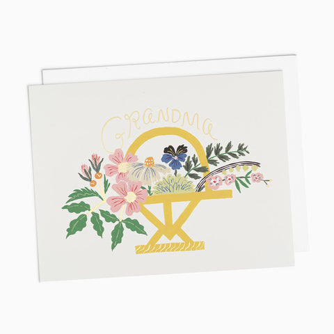 Grandma Floral Bouquet Card