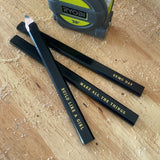 Carpenter Pencil Set:  the Motivator