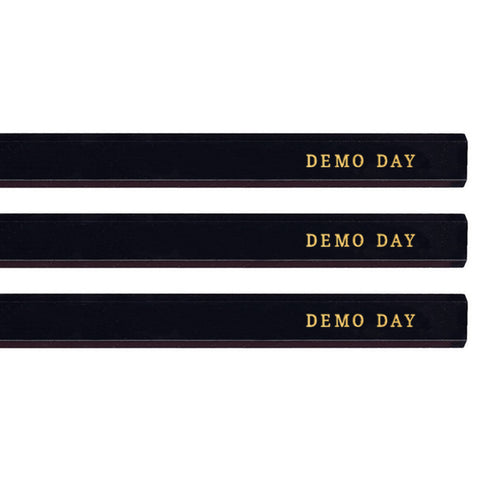 Demo Day carpenter pencils