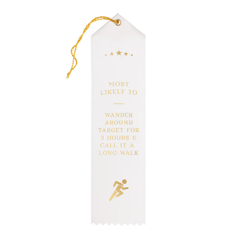 Long Walks Award Ribbon