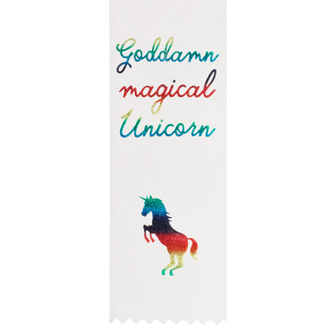 Magical Unicorn Award Ribbon