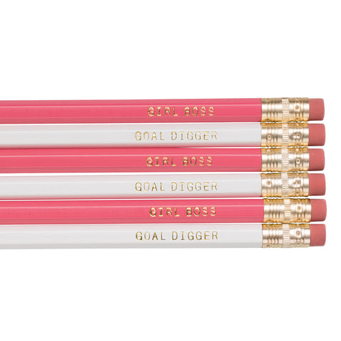 Girl Boss / Goal Digger pencils