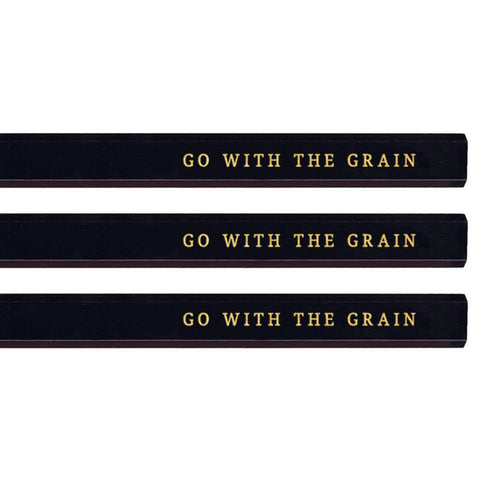 Go With the Grain carpenter pencils