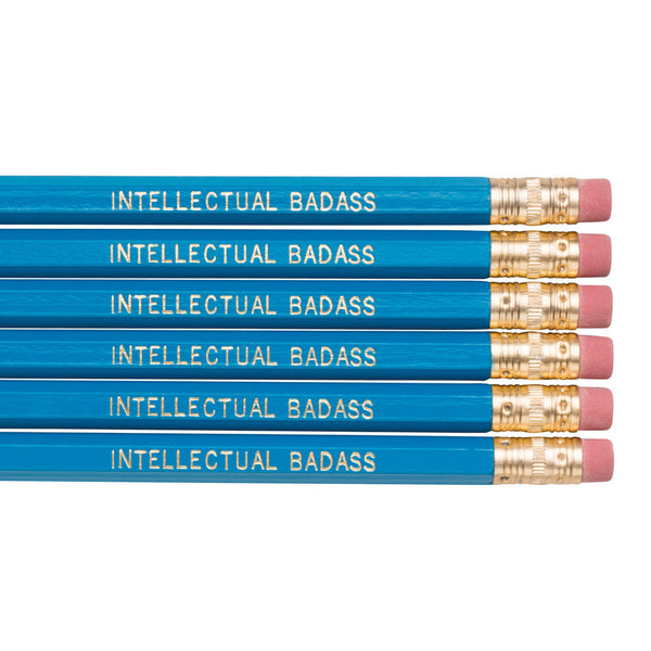 Intellectual Badass pencils
