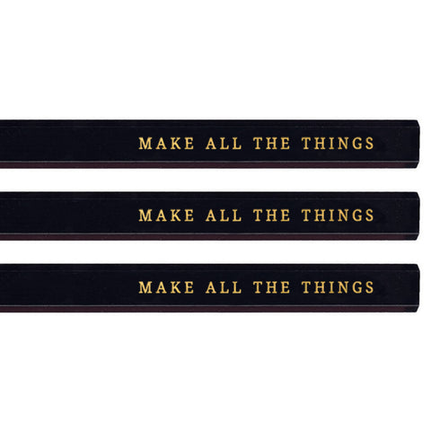 Make All the Things carpenter pencils