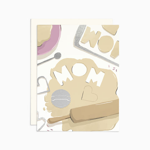 Mom Cookies Card