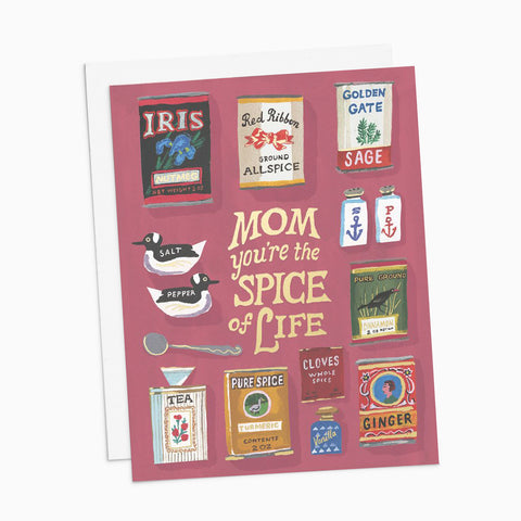 Mom You're the Spice of Life Card