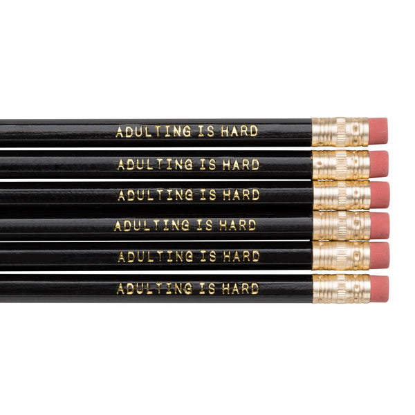 Adulting is Hard pencil set