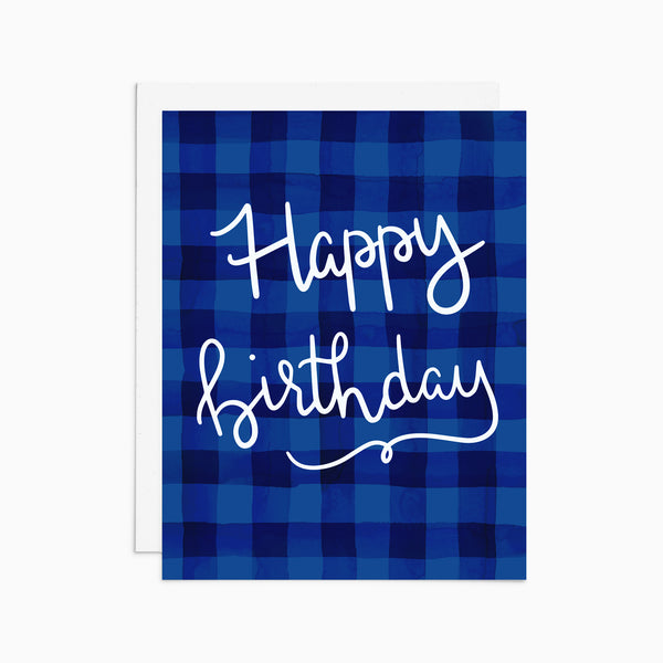 Plaid Birthday