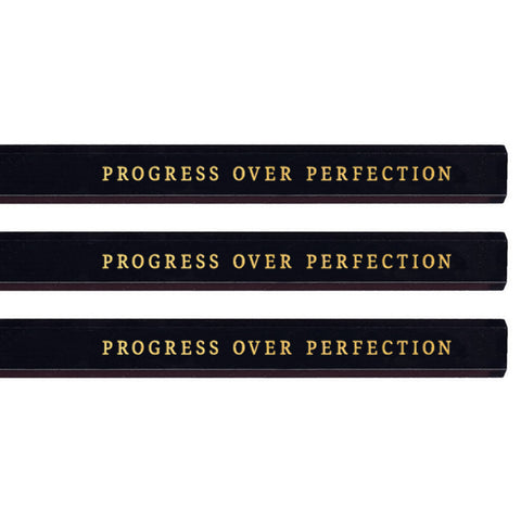 Progress Over Perfection carpenter pencils