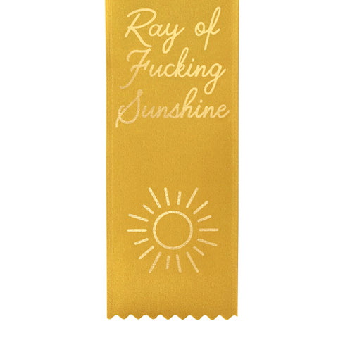 Ray of Sunshine Award Ribbon