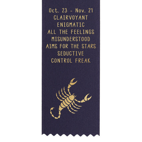 Scorpio Birthday Award