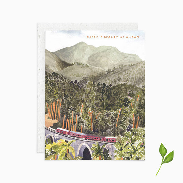 There is Beauty Up Ahead - Plantable Card